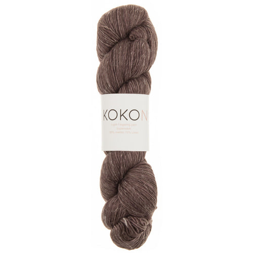 KOKON Merino Linen Fingering - Rust - NEW COLOUR JUST ARRIVED