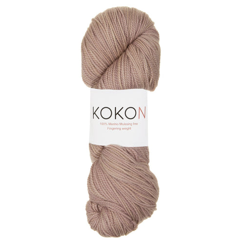 KOKON - Fingering Weight Merino - Clay