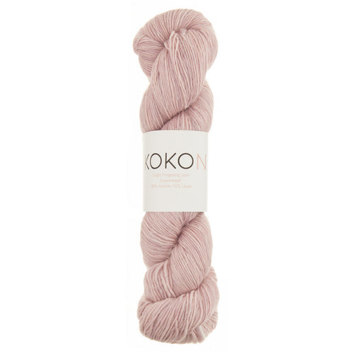 KOKON Merino Linen Fingering - Rose Gold - NEW COLOUR JUST ARRIVED