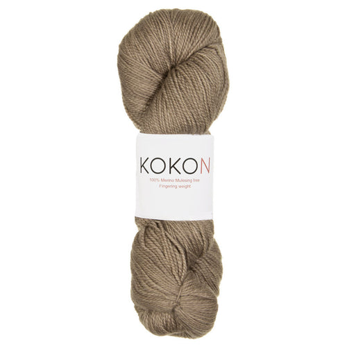 KOKON - Fingering Weight Merino - Cork
