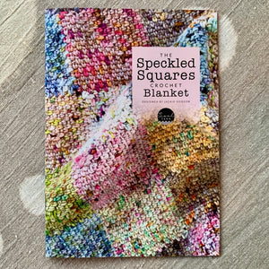 The Speckled Square Crochet Blanket Pattern (hard copy) by Jackie Hodson
