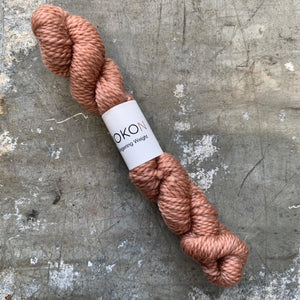 KOKON - Fingering Weight Merino Mini Skein - Copper