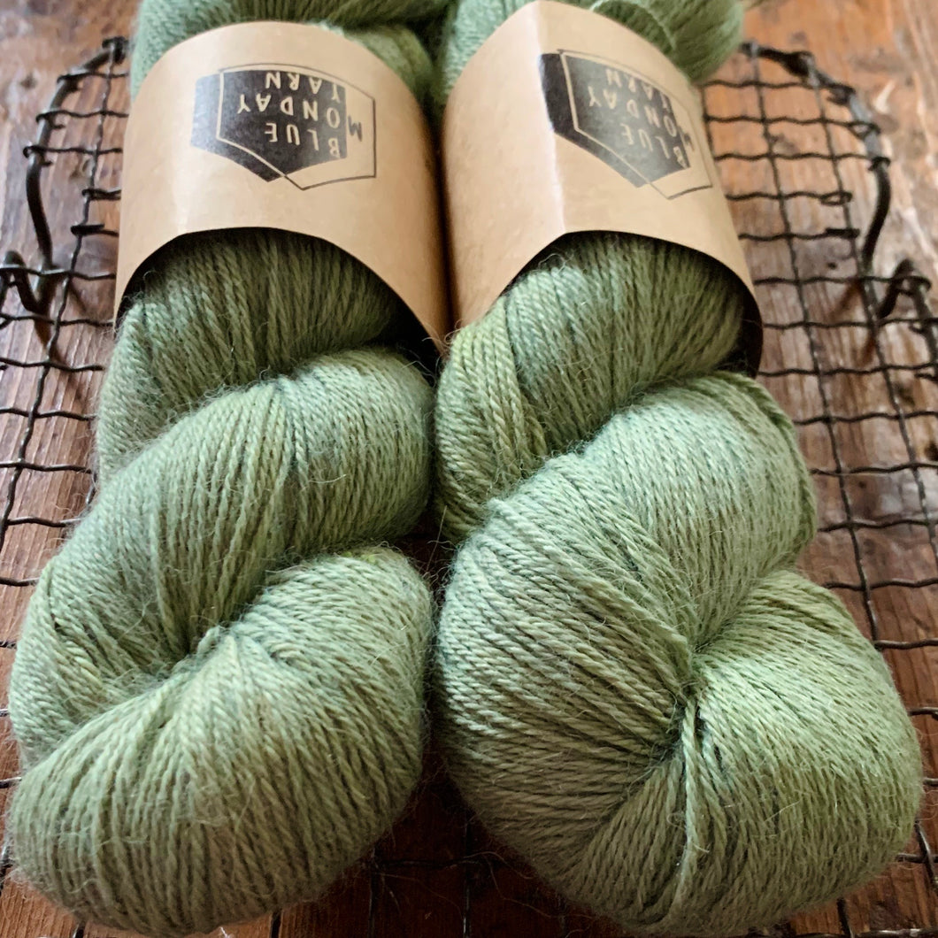 Blue Monday Yarn - Fingering - Meadow ( Dyelot #2 )