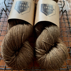 Blue Monday Yarn - Fingering - Gold