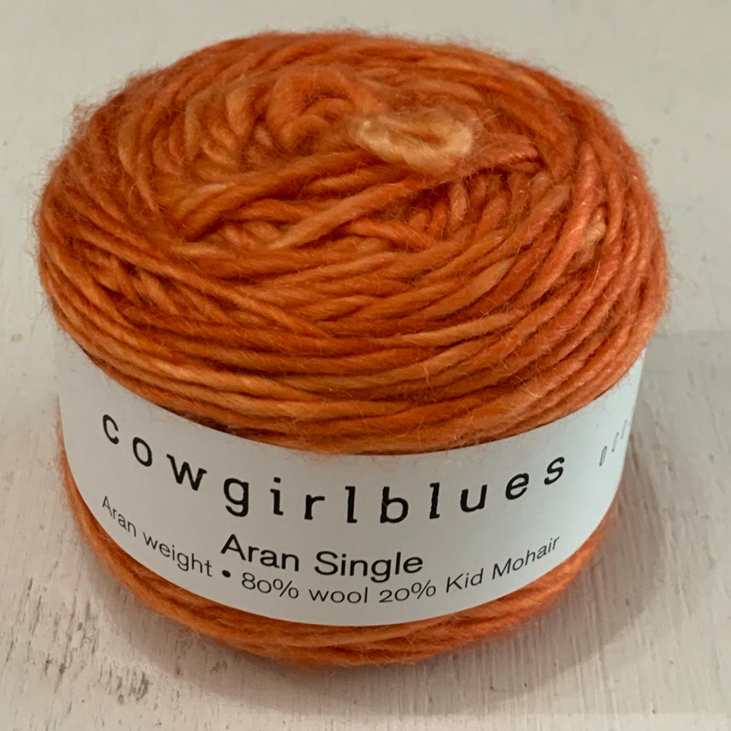 Cowgirlblues  - Aran Single - Carrot Juice