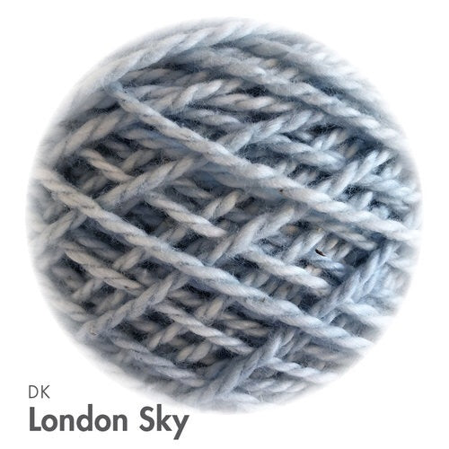 MoYa 100% Cotton DK - 50gram ball  - London Sky