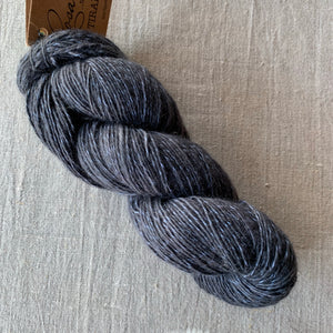 Rosabella...threads of pure luxury TIRAMISU 5 - 100g skein - Graphite Fleck