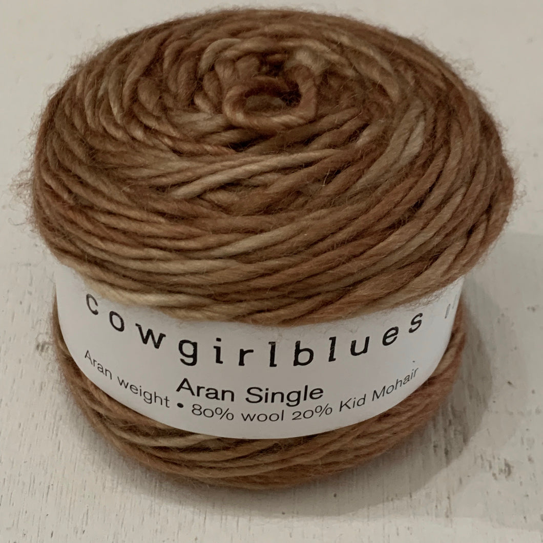Cowgirlblues  - Aran Single - Camel