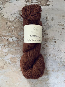 Lanivendole - A Chic Blend - 4ply / Light Fingering - Cioccolato
