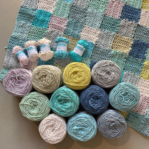Scrappy Square Blanket Kit - Version One