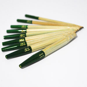 "Lykke 3.5"" Grove Bamboo Interchangeable Knitting Needle Tips"