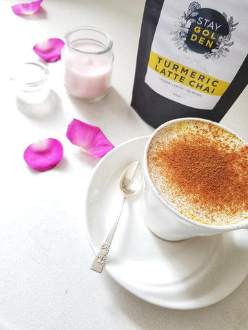 Tumeric Chai Latte, Cancer Care