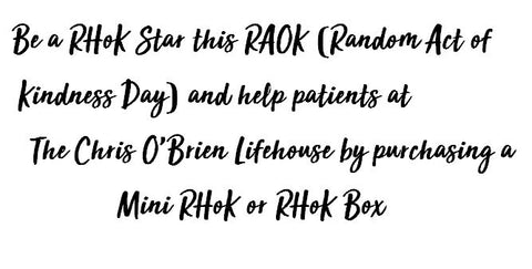 Random act of kindness (roak) day for cancer patients