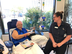 Cancer Carepacks Delivered to Allan Walker Cancer Centre