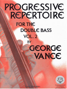 Vance - Progressive Repertoire for the Double Bass