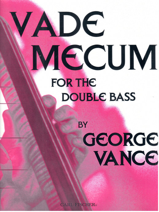 Vance - Vade Mecum for Double Bass