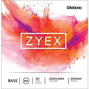 D'Addario - Zyex Double Bass Strings