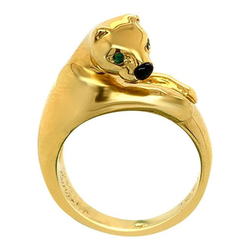 Cartier Panther 18 Karat Yellow Gold Ring