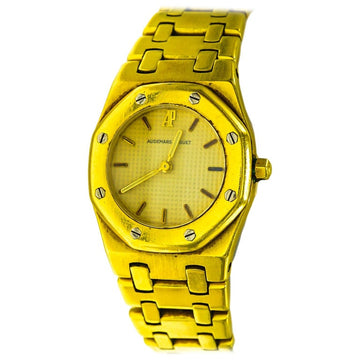 Audemars Piguet 18 Karat Gold Watch