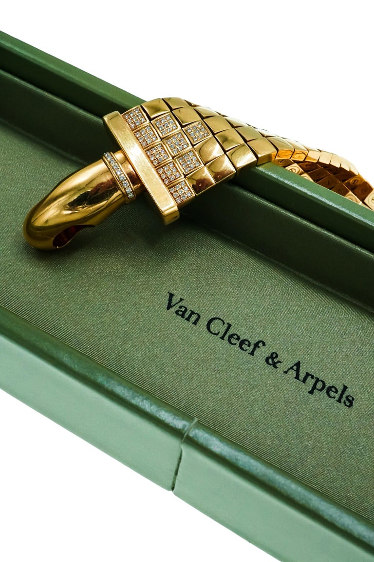 Van Cleef & Arpels 'Candenas' Diamond Watch