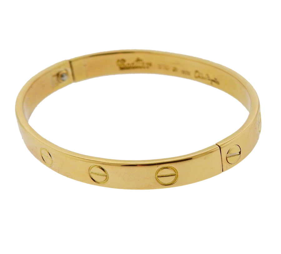 Cartier Aldo Cipullo 1970s Original Love Gold Bracelet