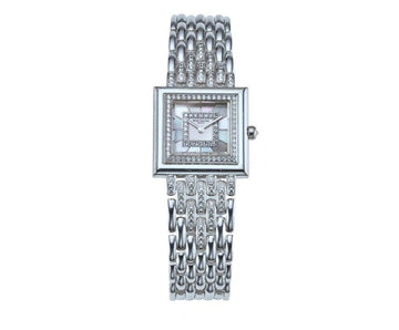 Patek Philippe 18K White Gold and Diamond Wrist Watch