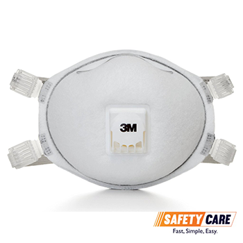 8214 Valved Respirator N95 Disposable 3m