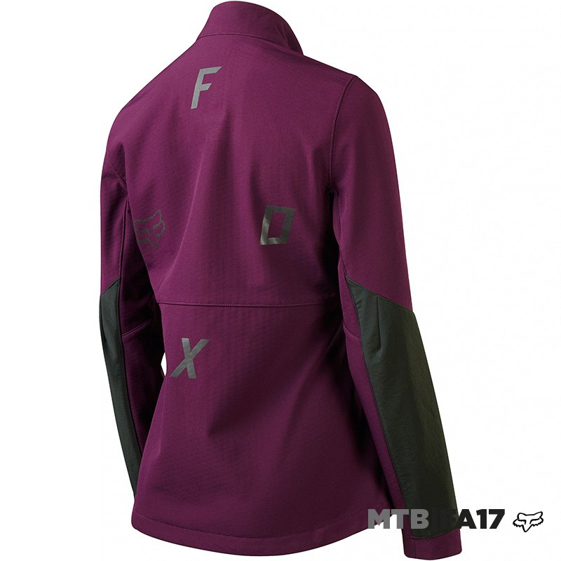 Chamarra Fox Attack Fire Softshell