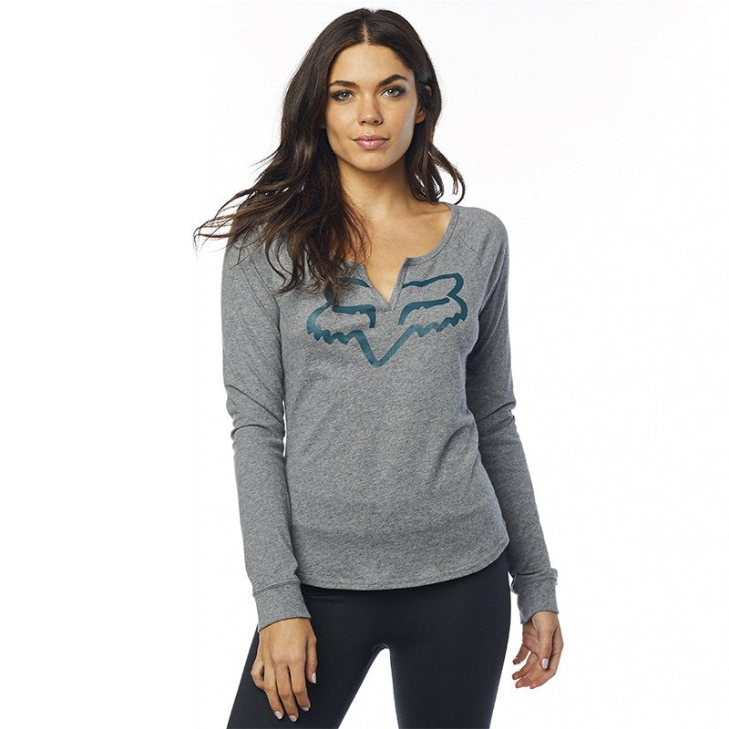 Playera Fox Thorn Airline Ls Mujer