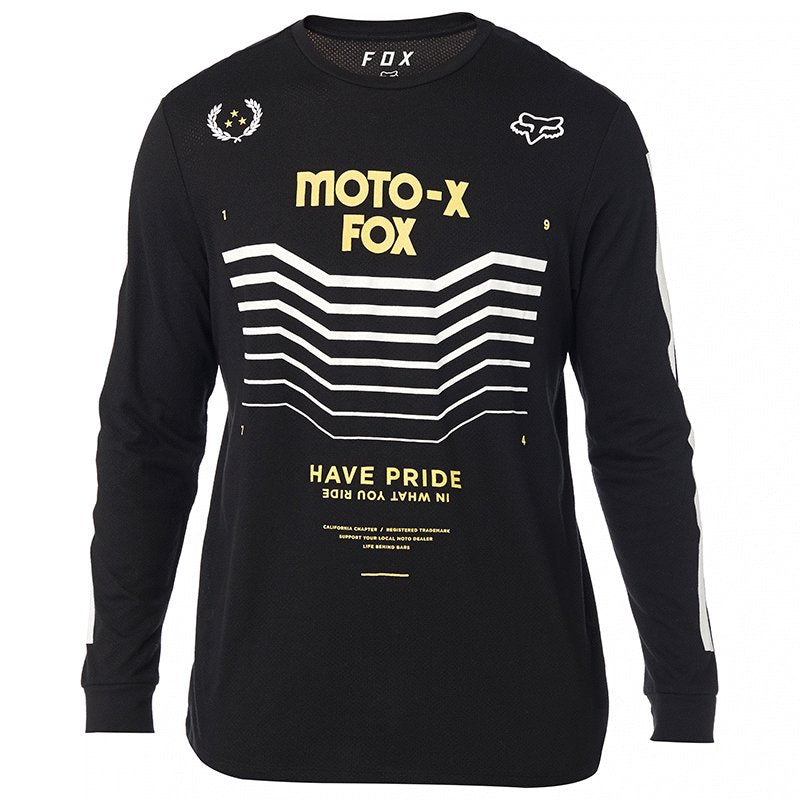 Playera Fox Pride Ls Knit