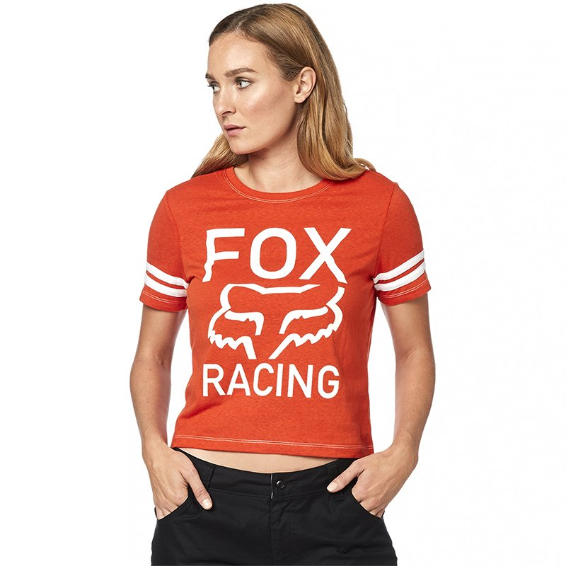 Tee Fox Ss Established Mujer