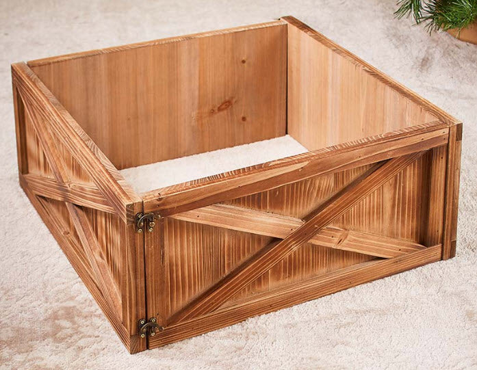 Wood Tree Box