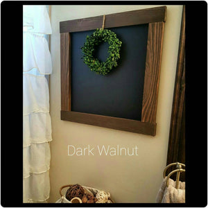Chalkboard - Wood Chalkboard - Decorative Chalkboard - Memo Board - Chalkboard Calender - Farmhouse Wall Decor - Farmhouse Decor