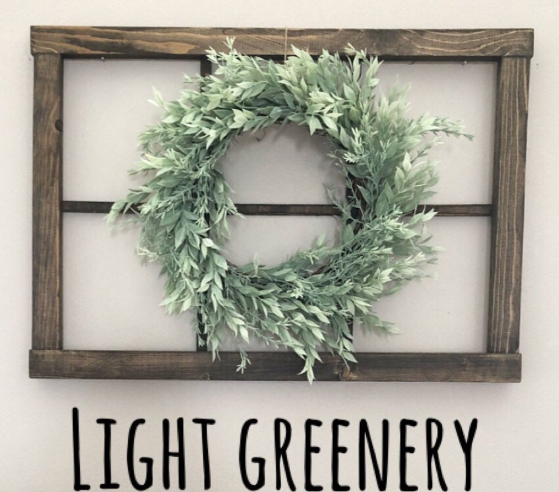 Light Greenery Wreath