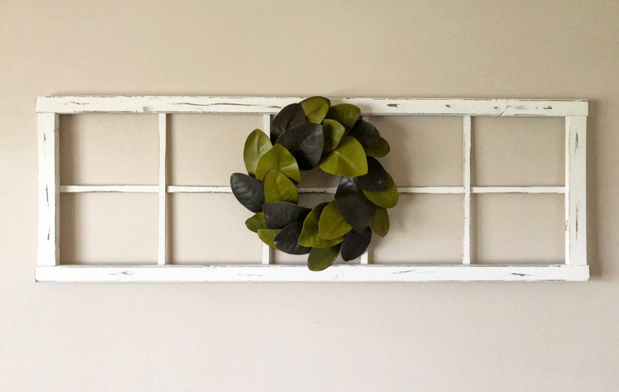 Two-Toned Magnolia Mini Wreath