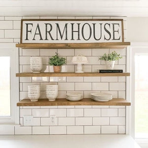 Farmhouse Sign 48x13 - Farmhouse Wood Sign - Farmhouse Wall Decor - Wood Farmhouse Sign - Farmhouse Wood Wall Decor - Farmhouse Decor