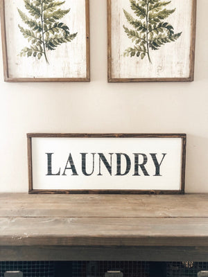 Laundry Room Sign 12x30, Laundry Sign, Laundry Room Decor, Laundry Room Art, Fixer Upper, Rustic Wall Decor, Farmhouse Style Sign, Wood Sign