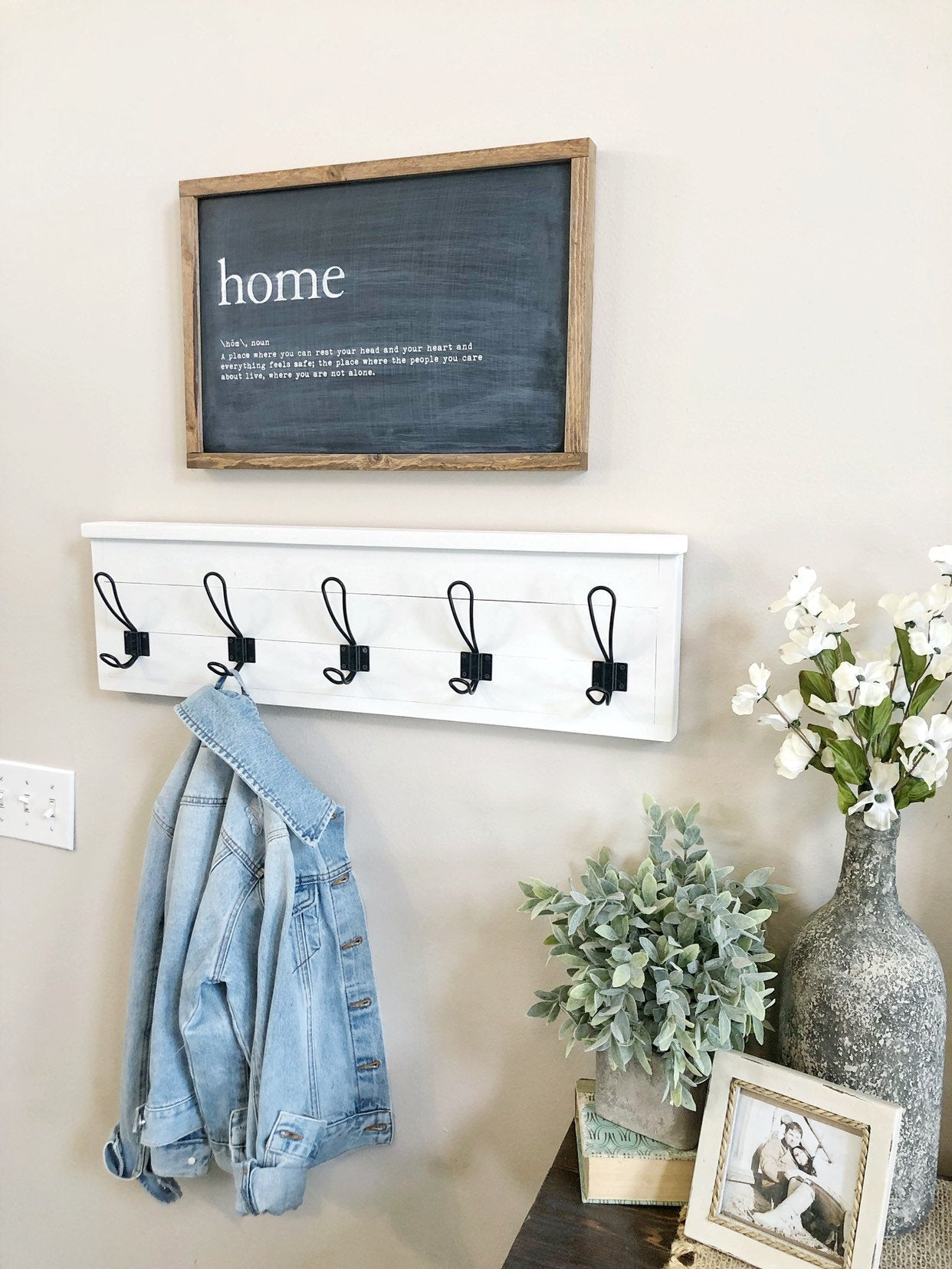 Coat Rack - Towel Rack - Shiplap Coat Rack - Entryway Coat Rack - Coat Rack Shelf - Entryway storage - Bathroom Storage - Towel storage