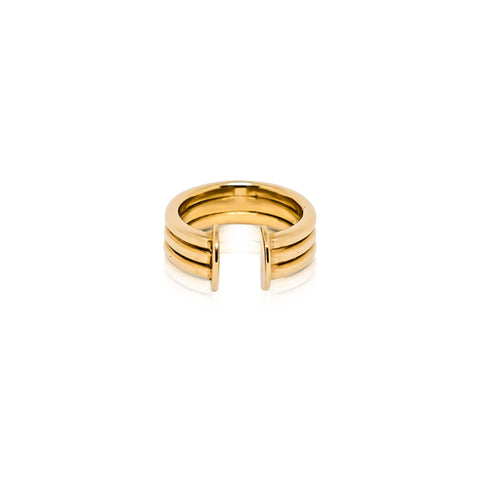 DUALITY RING - BRONZE