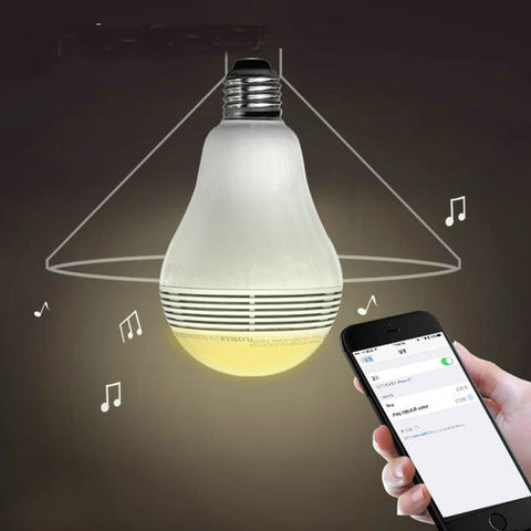 MIPOW Bluetooth Bulb Speakerr