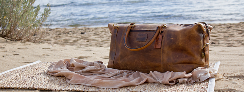 Leather Collingwood Weekender Travel Bag