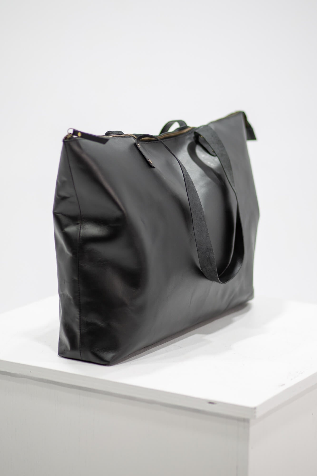 Bronx Leather Tote Bag
