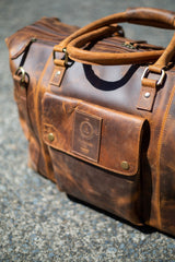 Branson Travel leather bag - Aurelius Leather