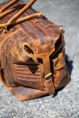 Branson Travel leather bag