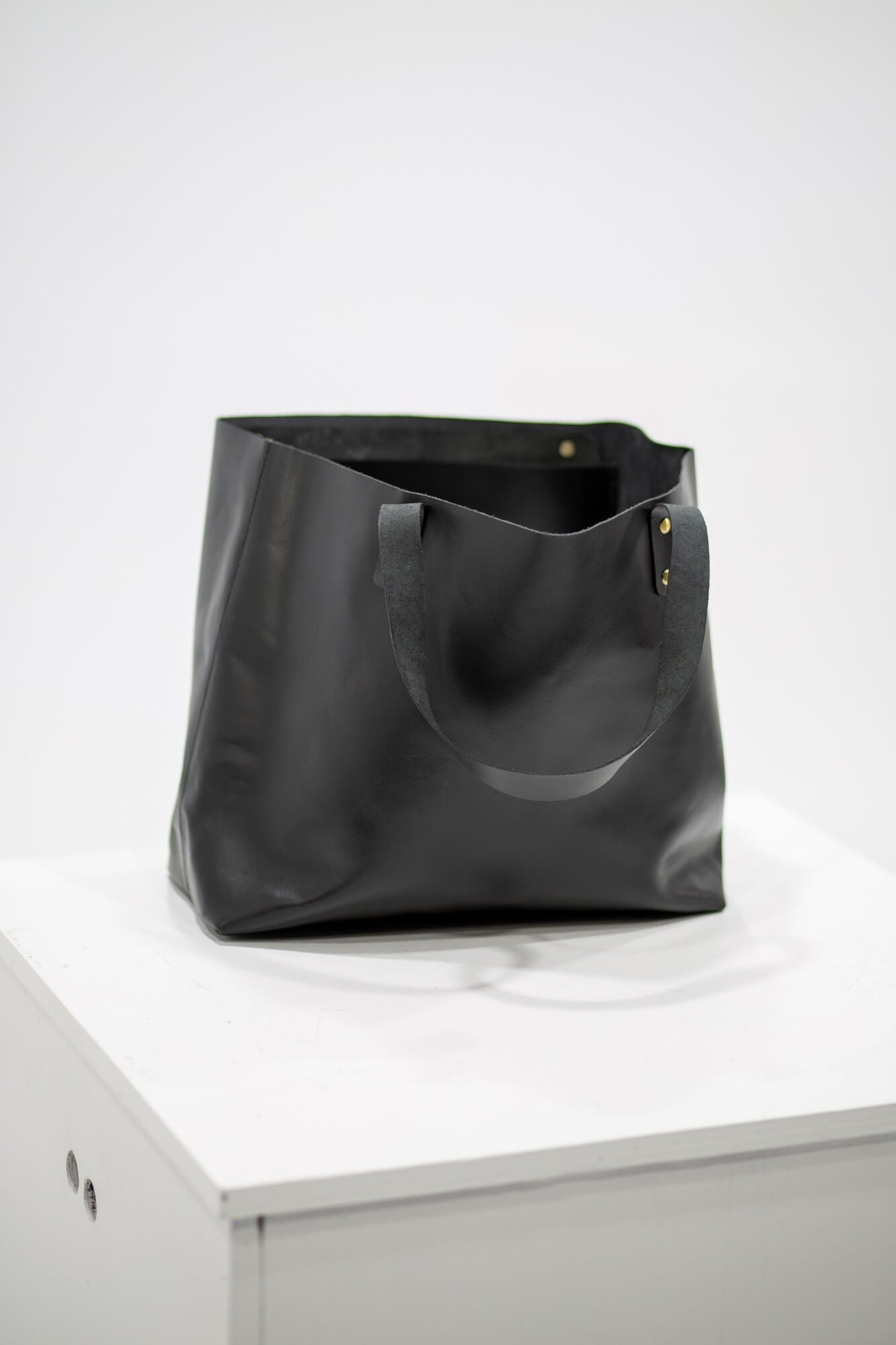 Felix Leather Tote mini - Aurelius Leather
