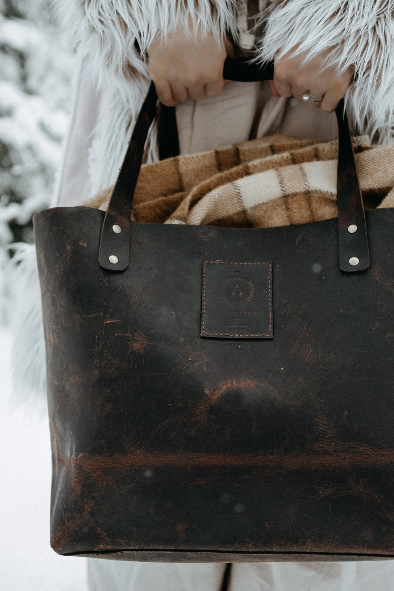 Chester Leather Tote mini