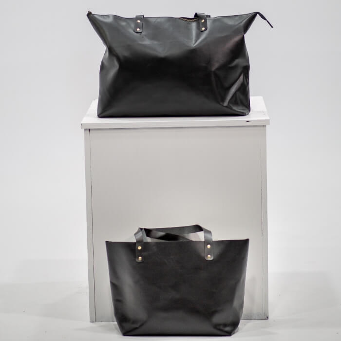 Bronx Leather Tote Bag - Aurelius Leather