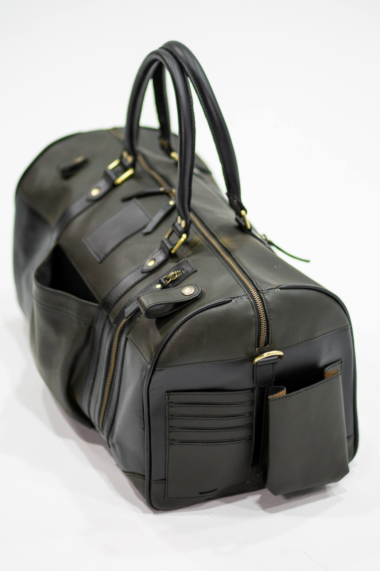 Leather Hendrix Gym Bag