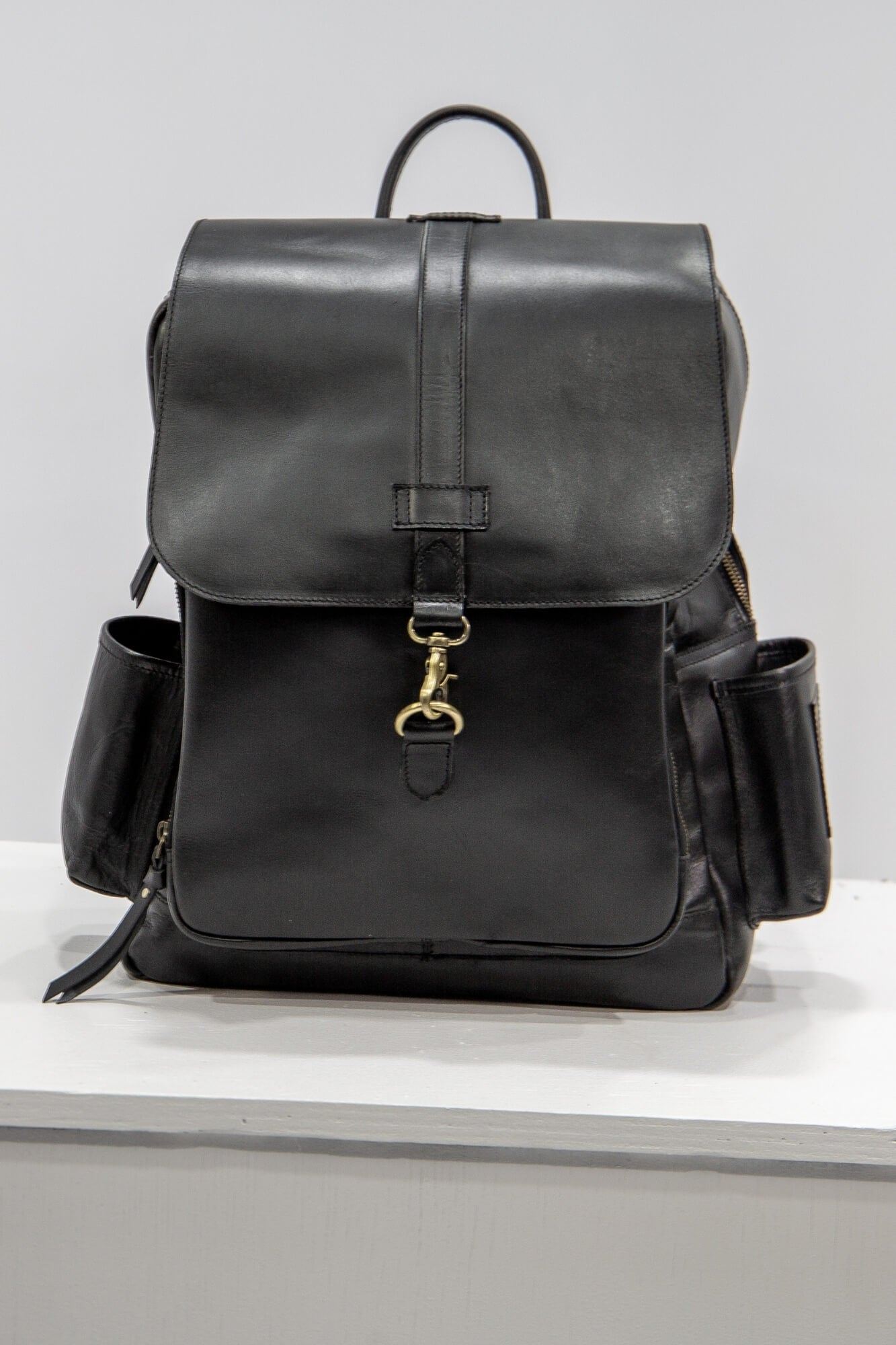 Baby Backpack Kai - Aurelius Leather