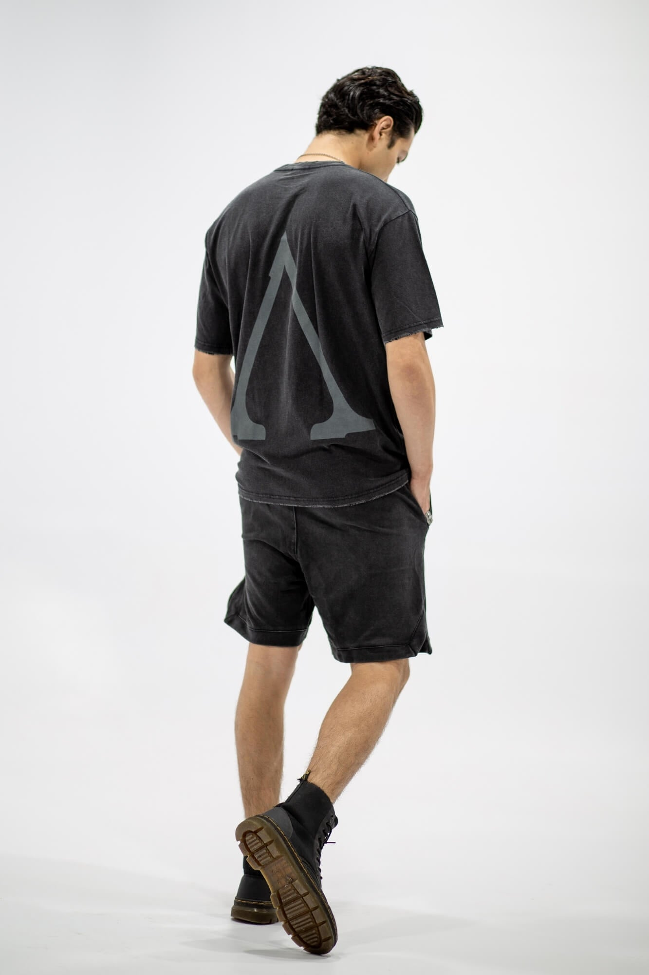 Aurelius Jagger Black Shorts - Aurelius Leather